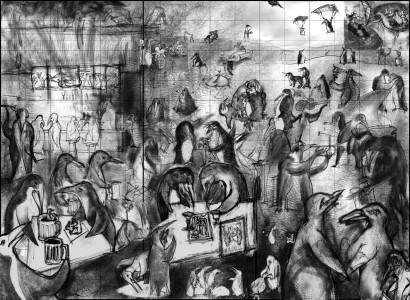 Penguins – Mural
